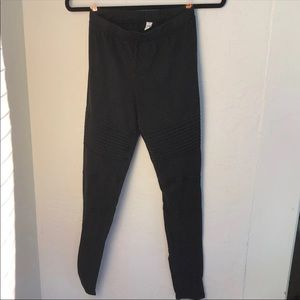 nordstrom no faded black leggings w detail